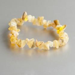 Opaal geel armband split