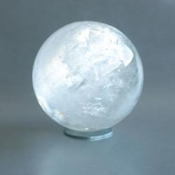Calciet wit edelsteen bol 01 (57 mm)