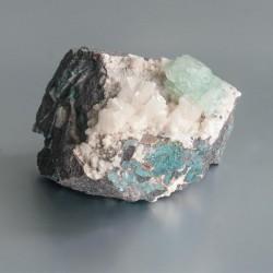 Apofyliet (groen) kristalcluster 20