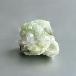 Prehniet & Bergkristal cluster 05