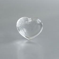 Bergkristal edelsteen hart large 03