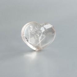 Bergkristal edelsteen hart 04