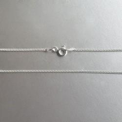 Zilveren gourmet ketting 40 cm (0,75 mm - model N1-011)
